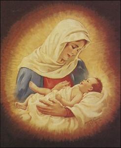 Maria met baby